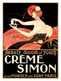 Crème Simon Giclée par Emilio Vila