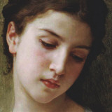Head Study of a Young Girl (detail)