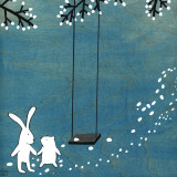 Follow Your Heart- Let's Swing Reproduction d'art par Kristiana Pärn