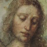 Study of Christ for Last Supper (detail) Reproduction d'art par Leonardo Da Vinci