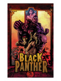 Black Panther No11 Cover: Black Panther  Cage  Luke and Shang-Chi