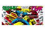 Marvel Comics Retro: Captain America Comic Panel  Fighting  Phase 1  So Far So Good!