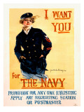 WWII US Navy Recruiting Poster