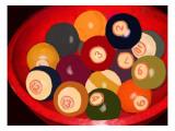 Vintage Cueballs with Provenance