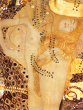 Sea Serpent, c.1907 Reproduction d'art par Gustav Klimt