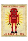 Ted Box Art Robot