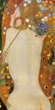 Serpents de mer IV, vers 1907 Reproduction d'art par Gustav Klimt