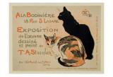 A la Bodiniere/Exposition Steinlen Reproduction d'art par Théophile Alexandre Steinlen