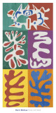 Panel with Mask, c.1947 Reproduction d'art par Henri Matisse