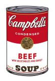 Campbell's Soup I: Beef, c.1968 Reproduction d'art par Andy Warhol