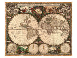 World Map  1660