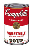 Campbell's Soup I: Vegetable, c.1968 Reproduction d'art par Andy Warhol