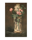 Flowers in a Vase  c1882