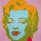 Marilyn Monroe, 1967 (pale pink) - Marilyn Monroe, 1967 (rose pâle) Reproduction d'art par Andy Warhol