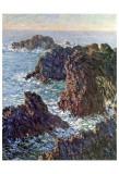 Rock Points at Belle-Ile  c1886