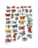 Butterflies, 1955 (Many/Varied Colors) Reproduction d'art par Andy Warhol