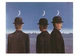 Le Chef d'Oeuvre Ou les Mysteres de l'Horizon, c.1955 Reproduction d'art par Rene Magritte