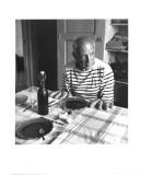 Les Pains de Picasso, Vallauris 1952 Reproduction d'art par Robert Doisneau