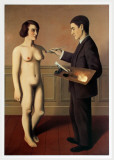 Tentative de L'Impossible Reproduction d'art par Rene Magritte