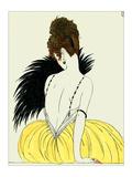 La femme à l'éventail Giclée par Georges Barbier
