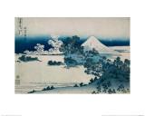 Shichiri Beach in Sagami Province  Katsushika Hokusai  Japan  Edo Period 1830-1833