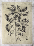 Embellished Antique Foliage V