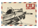 Small Vintage Airmail I