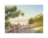 View of Malibu  Santa Monica  California
