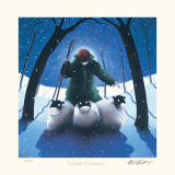Winter Romance Reproduction pour collectionneurs par Mackenzie Thorpe