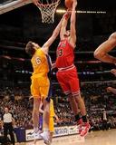 Chicago Bulls v Los Angeles Lakers: Joakim Noah and Pau Gasol