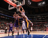 Los Angeles Lakers v Los Angeles Clippers: Blake Griffin  Pau Gasol and Lamar Odom