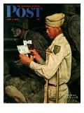 """War Bond"" Saturday Evening Post Cover  July 1 1944"