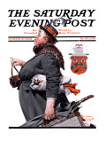 """Housekeeper"" Saturday Evening Post Cover  March 27 1920"