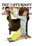 """Decorator"" Saturday Evening Post Cover  March 30 1940"