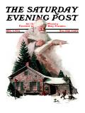 """Good Deeds"" Saturday Evening Post Cover  December 6 1924"
