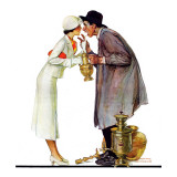 """""""Bargaining with Antique Dealer""""  May 19 1934"""