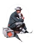 """Man and Dog"" or ""Pals"", September 27,1924 Giclée par Norman Rockwell"
