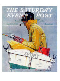 """Sport"" Saturday Evening Post Cover  April 29 1939"