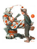 """""""Circus"""" or """"Meeting the Clown""""  May 18 1918"""