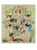 """""""Family Tree""""  October 24 1959"""
