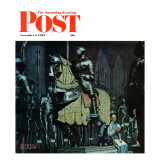 """Armor"" Saturday Evening Post Cover  November 3 1962"
