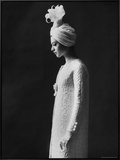 Model Wearing Costume from Collection of Famous Designers