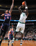Atlanta Hawks v Boston Celtics: Kevin Garnett and Josh Smith