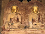 Buddha Statues with Gilded Faces