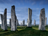 The Callanish Standing Stones  cut from rocks three billion years old