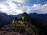 Machu Picchu  an Archaeological Site in Peru  from Above