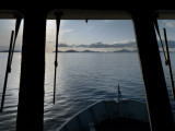 View from the Pilot House of a Ferry from Oban to Castlebay  Barra