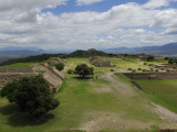 The Ruins and Remains of Mixtec and Zapotec Monte Alban
