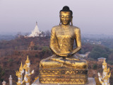 A Gilded Buddha Statue
