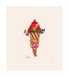 Ice Cream Dessert, c. 1959 (fancy red) Giclée par Andy Warhol